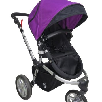 dois purple 3 wheel